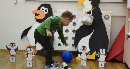 Polarne zabawy w dniu pingwina