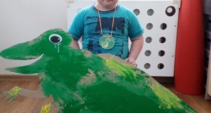 Dinozaury w przedszkolu!
